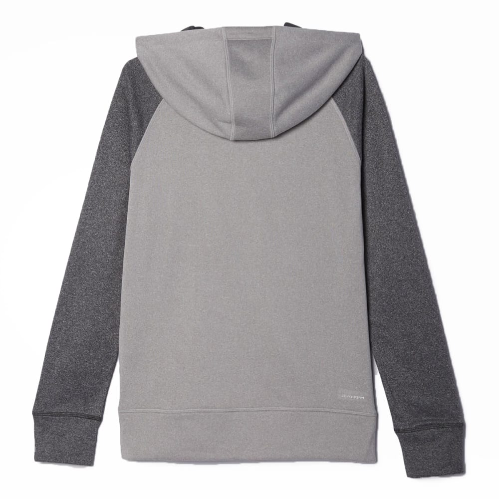 ADIDAS Women's Ultimate Pullover Hoodie - MEDIUM GREY HEATHER