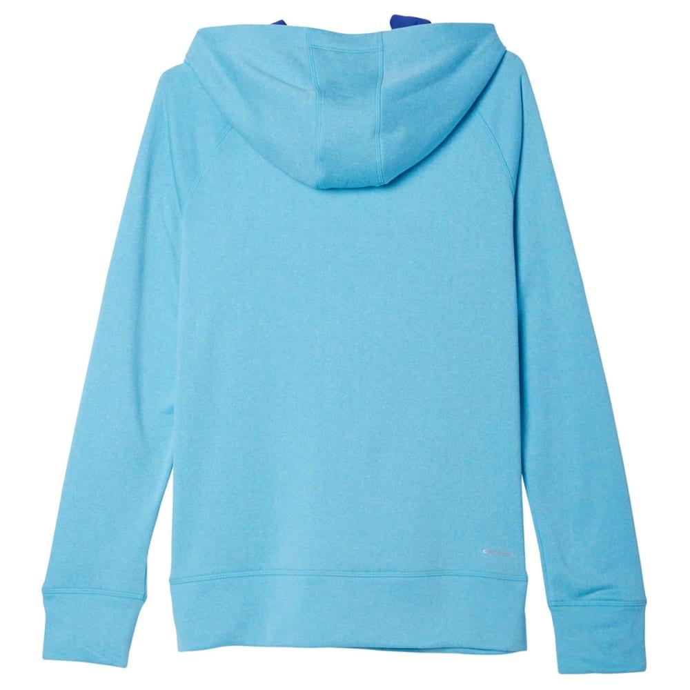 ADIDAS Women's Ultimate Pullover Hoodie - CYAN