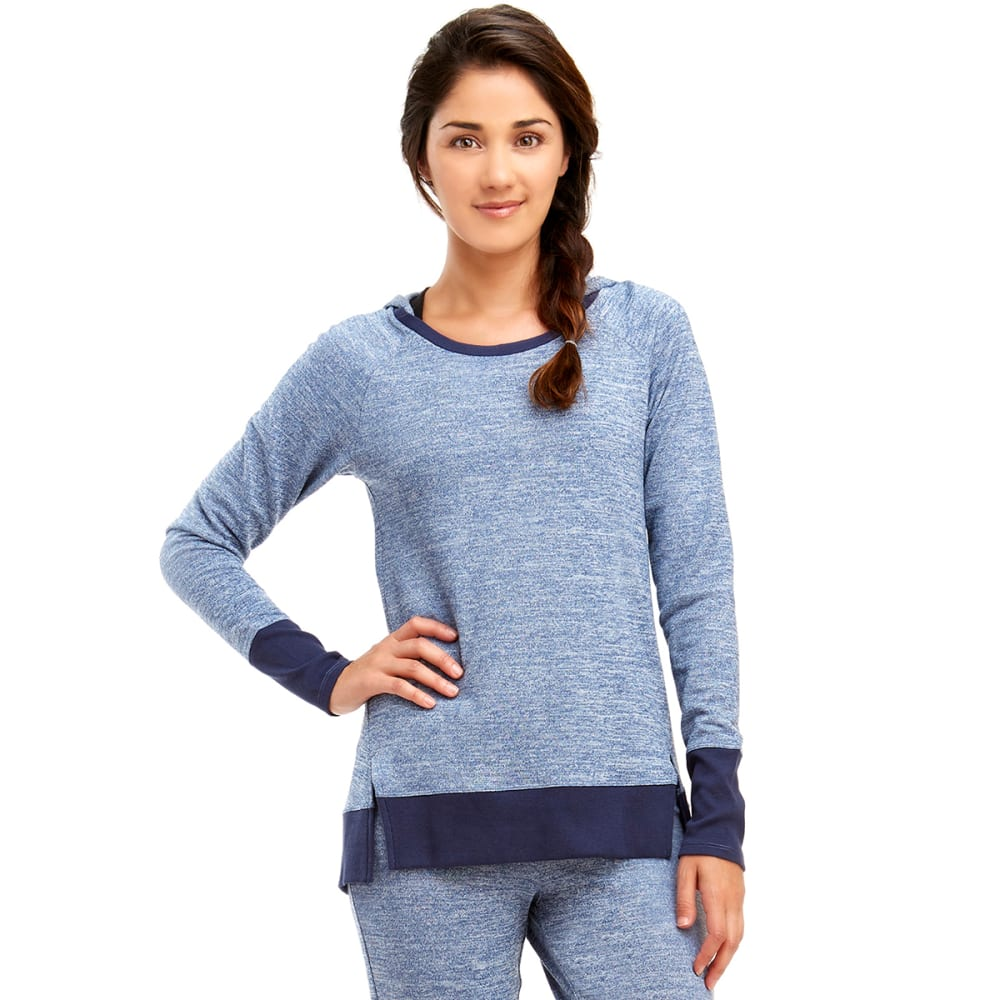 MARIKA Women's Sweet Raglan Hoodie - ESTATE BLUE
