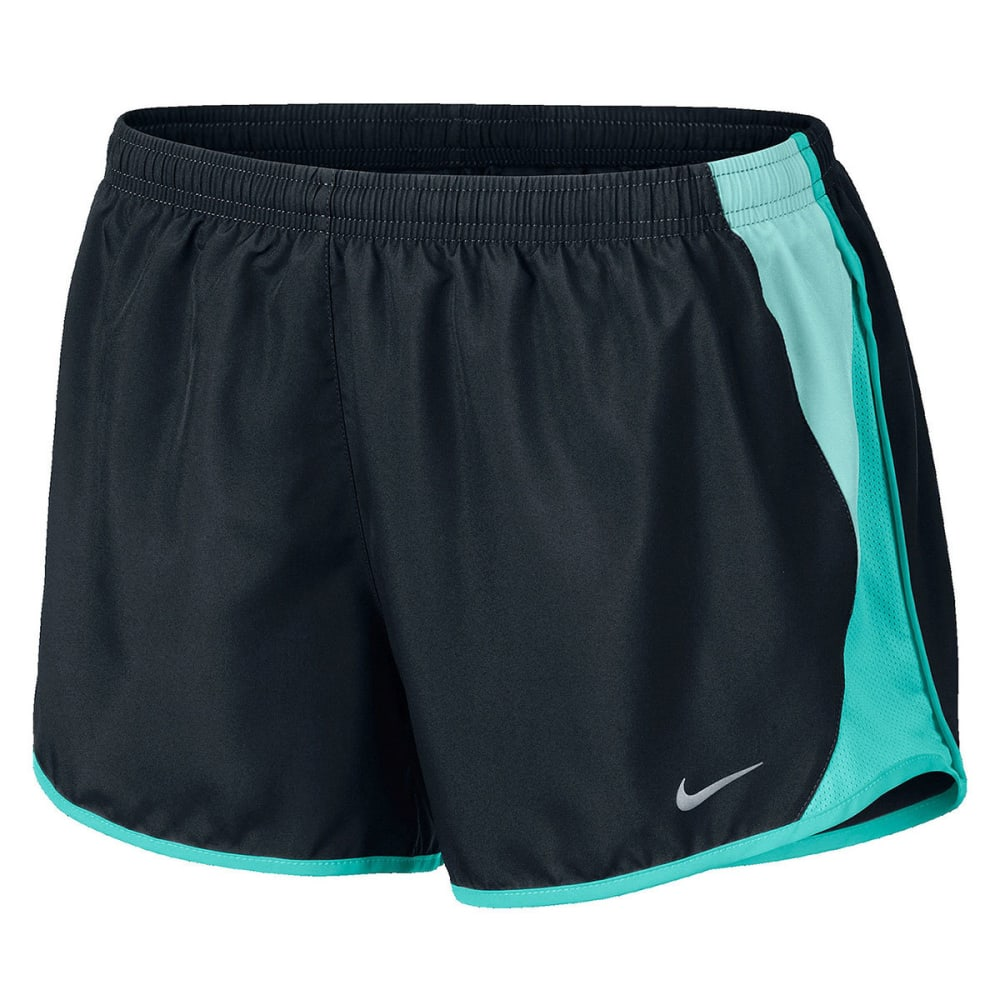 NIKE Women's 3.5 in. Dri-FIT Tempo 10K Running Shorts - BLACK
