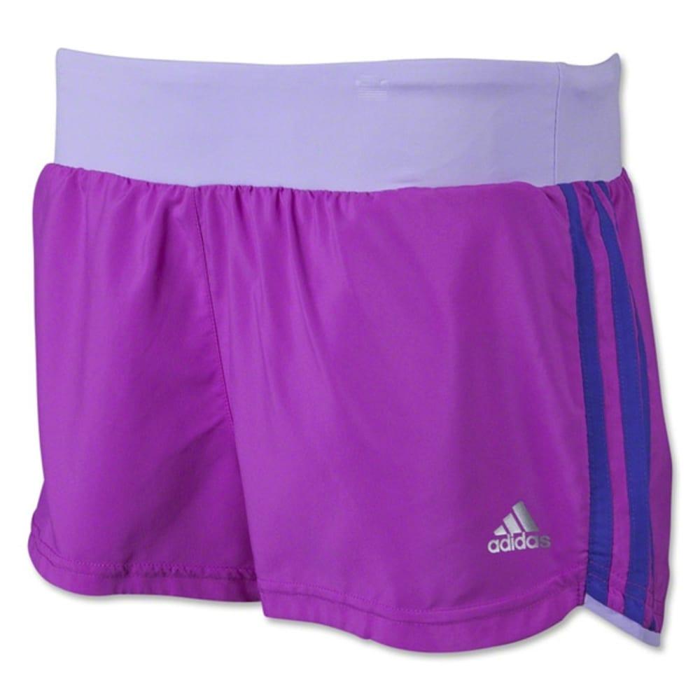 ADIDAS Women's Mia 3 Stripe Shorts - PINK