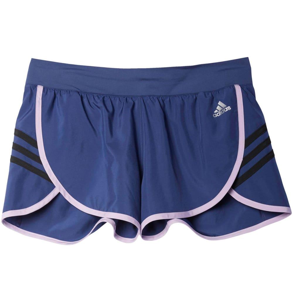 ADIDAS Women's Ultimate Knit Shorts - PURPLE