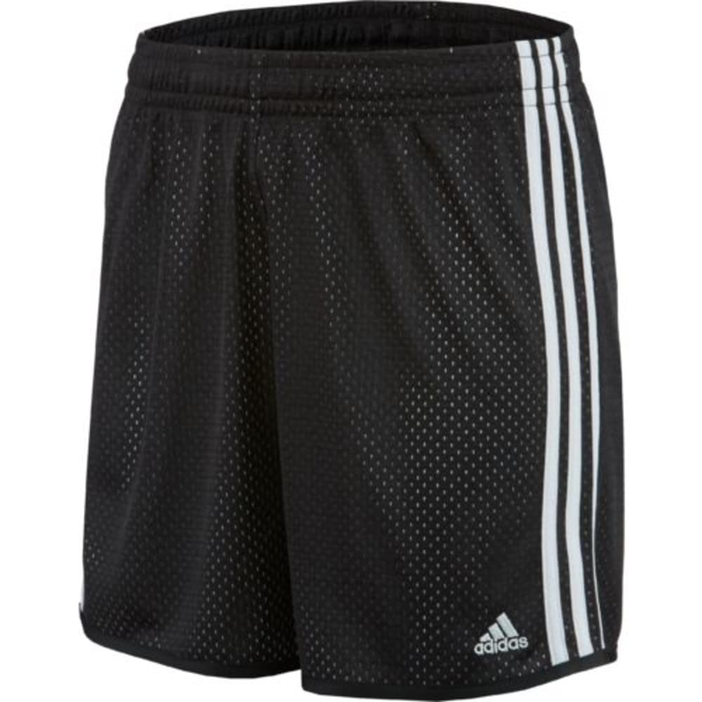 ADIDAS Women's On Court Mesh Basketball Shorts - BLACK/WHITE-AJ2348