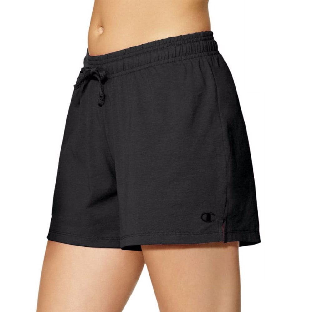 Champion Women's Authentic Jersey Shorts - Black, S