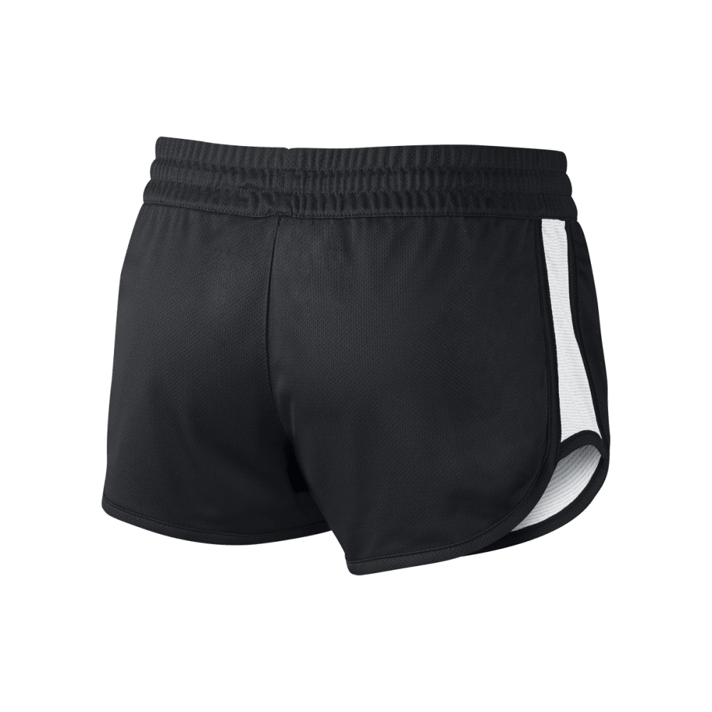 NIKE Women's Gym Reverse Shorts - BLACK