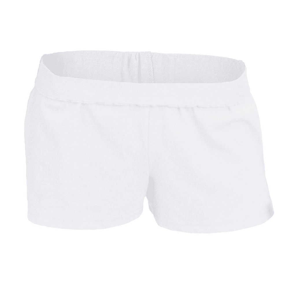 SOFFE Women's Authentic Low-Rise Shorts - WHITE