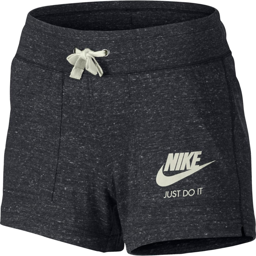 NIKE Women's Gym Vintage Shorts - ANTHRACITE-003