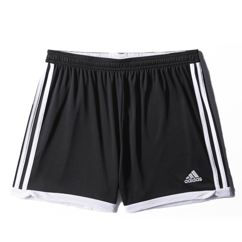ADIDAS Women's Tastigo Soccer Shorts - BLACK/WHITE-S04986