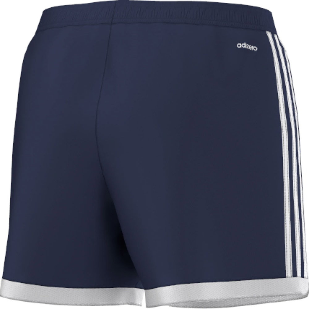 ADIDAS Women's Tastigo Soccer Shorts - DARK BLUE/WHT S17227