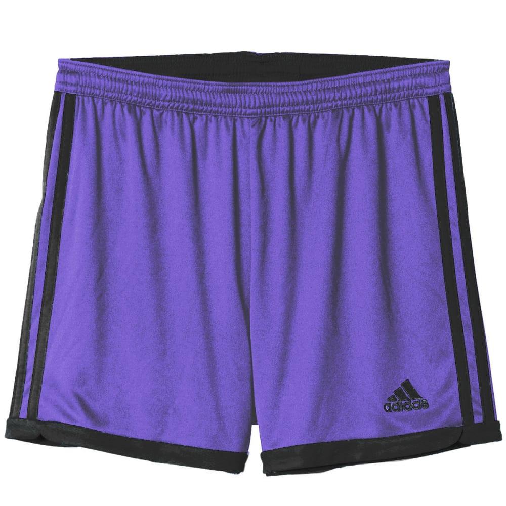 ADIDAS Women's Tastigo 15 Knit Soccer Shorts - PURP/BLK AP0343