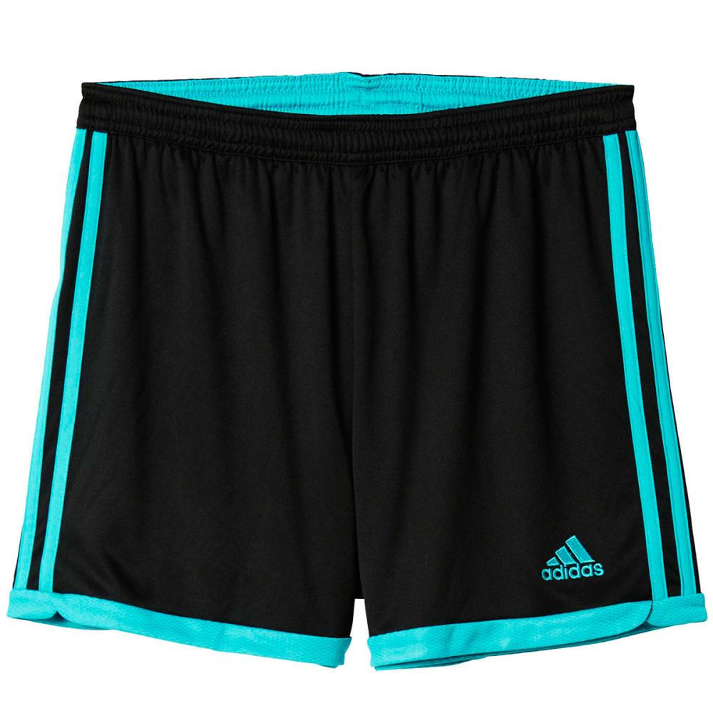 ADIDAS Women's Tastigo 15 Knit Shorts - BLK/SHCK GRN AP0344