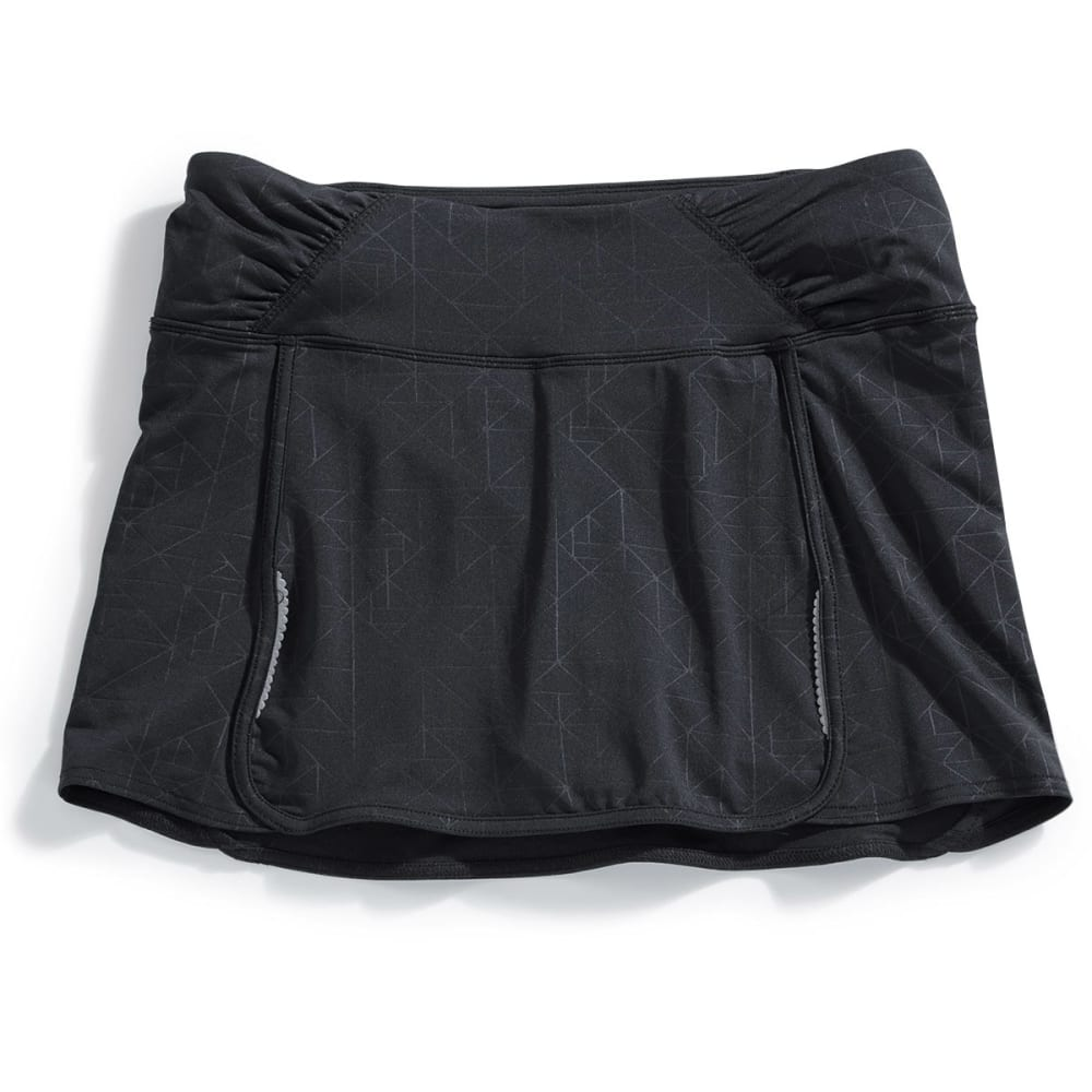 MARIKA Women's Get Connected Dolphine Hem Skort - BLACK