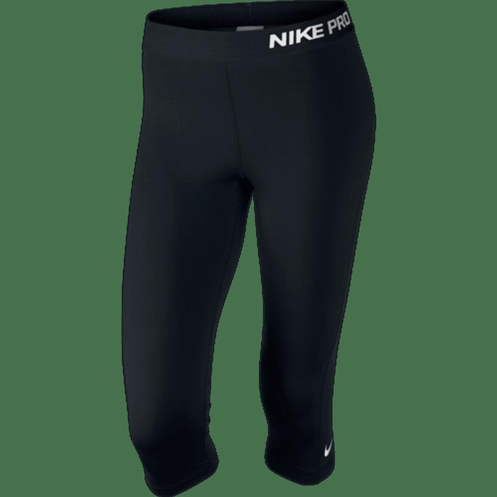 NIKE Women's Pro Capris - BLACK