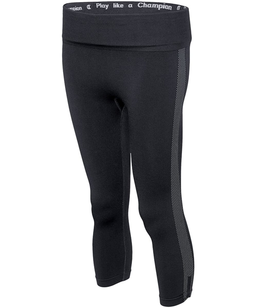 CHAMPION Women's Powerflex Seamless Capris - BLACK