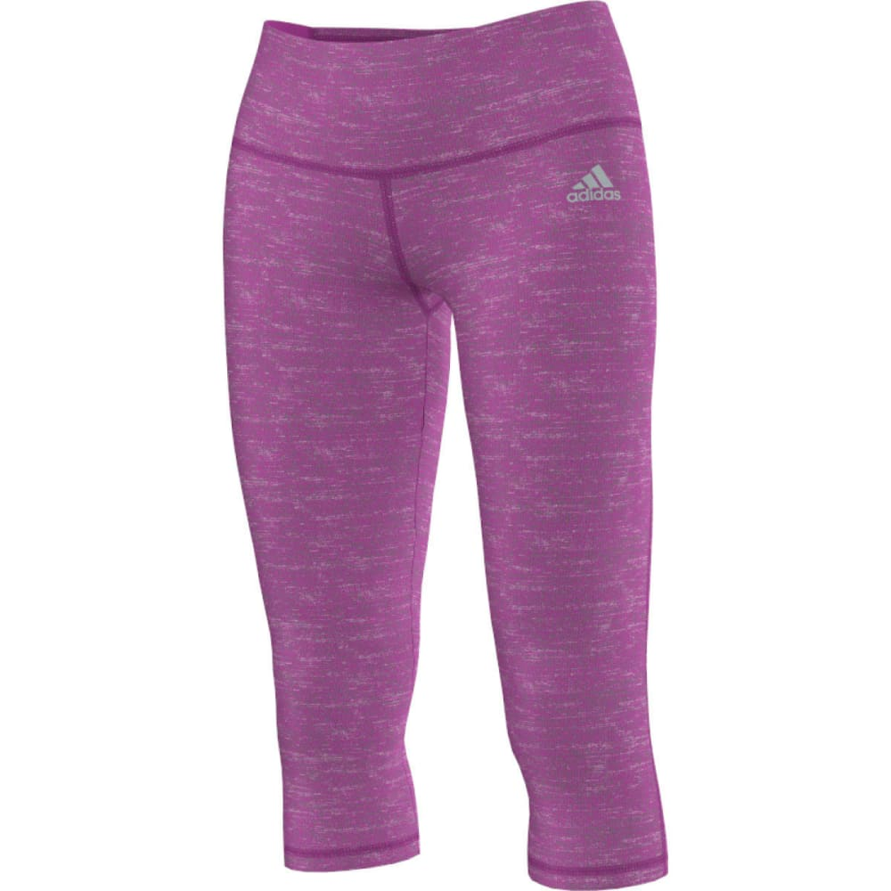 ADIDAS Women's Performer Tights - FLASH PINK PRINT/MAT