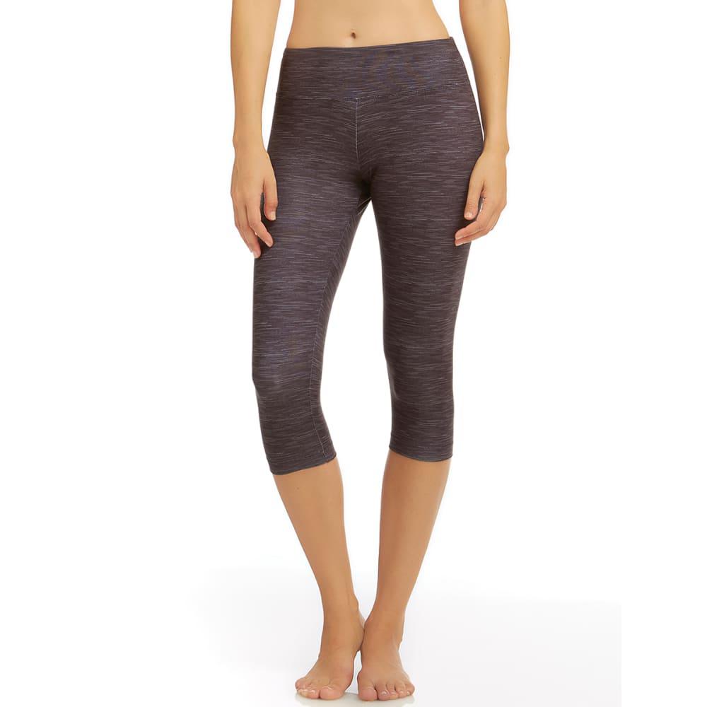MARIKA Women's Printed Capri Leggings - BLACK-00M