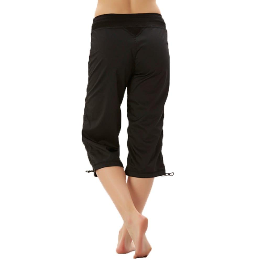MARIKA Women's Stretch Capris - BLACK