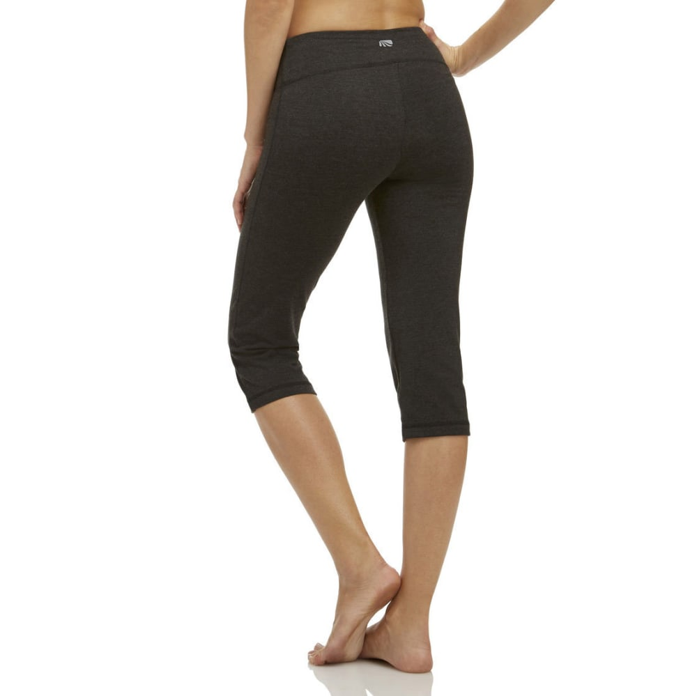MARIKA Women's Magic Tummy Control Crop - VALUE DEAL - CHARCOAL