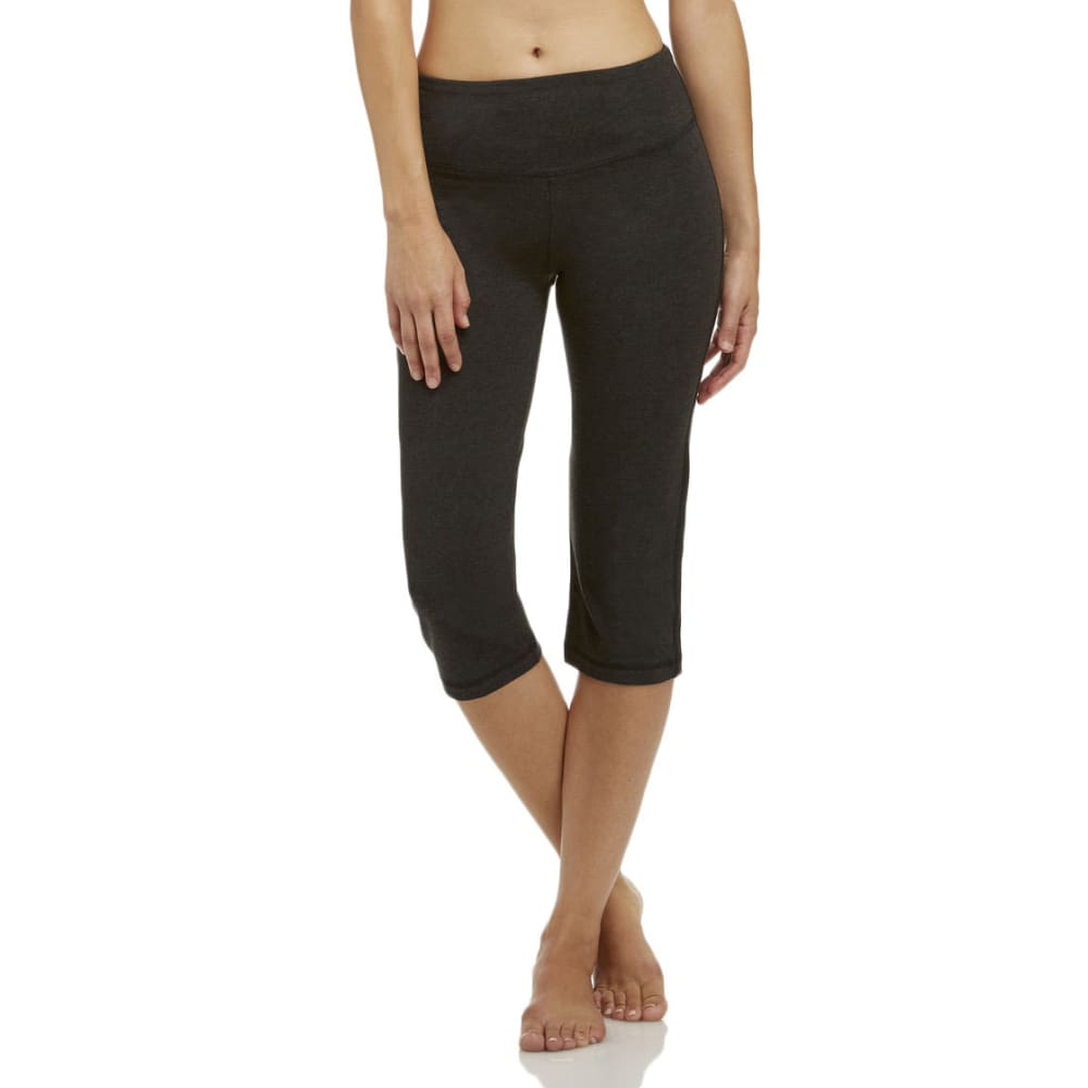 MARIKA Women's Magic Tummy Control Crop - CHARCOAL