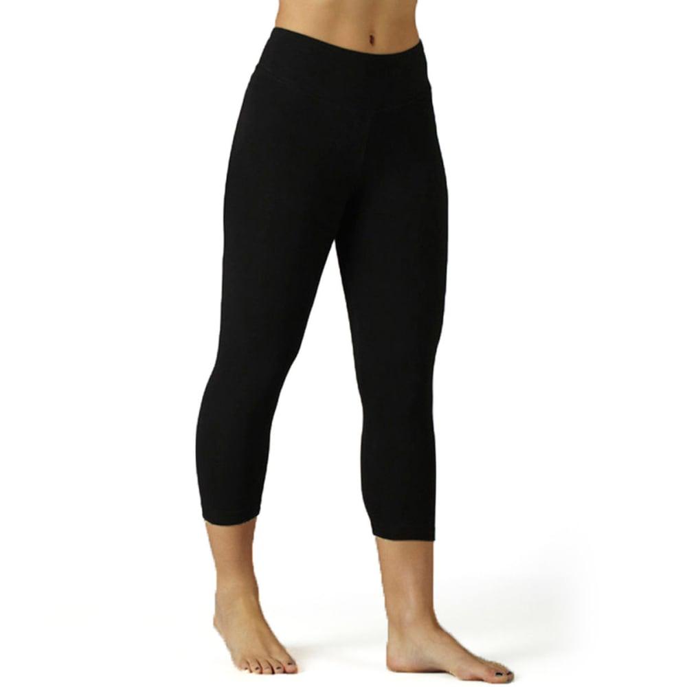 MARIKA Women's Magic Tummy Control Capri Tights - BLACK
