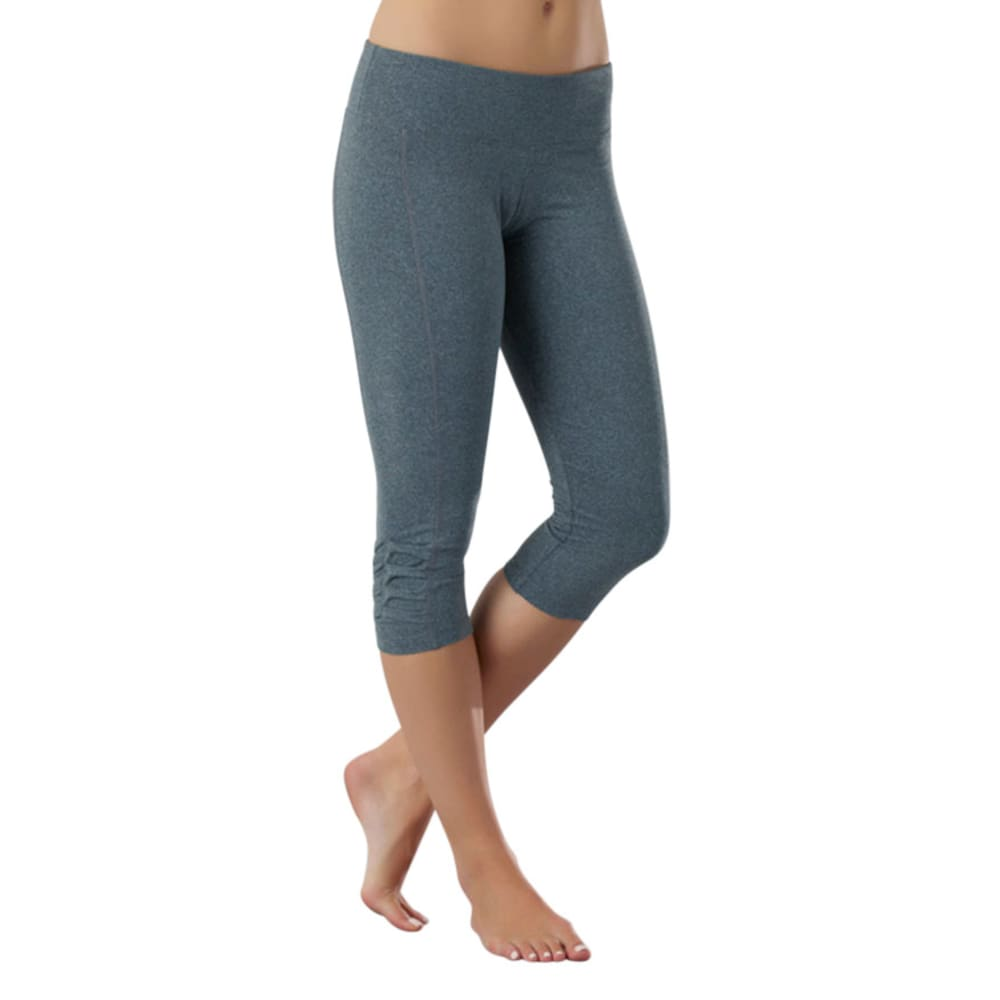 MARIKA Women's Balance Capri Leggings  - HEATHER GREY