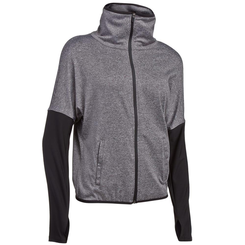 RBX Women's Long-Sleeve Drop Shoulder Jacket - CHARCOAL
