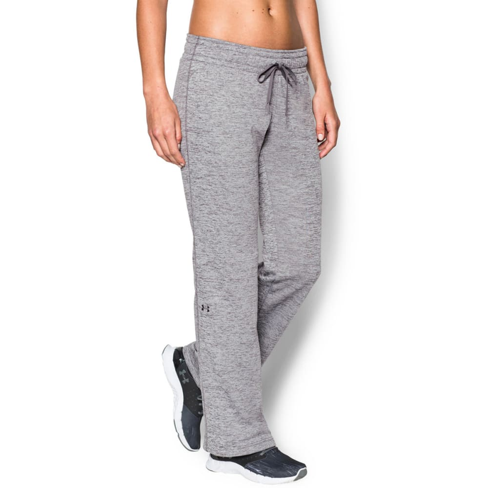 UNDER ARMOUR Women's UA Storm Armour Twisted Fleece Pants - GRAPHITE