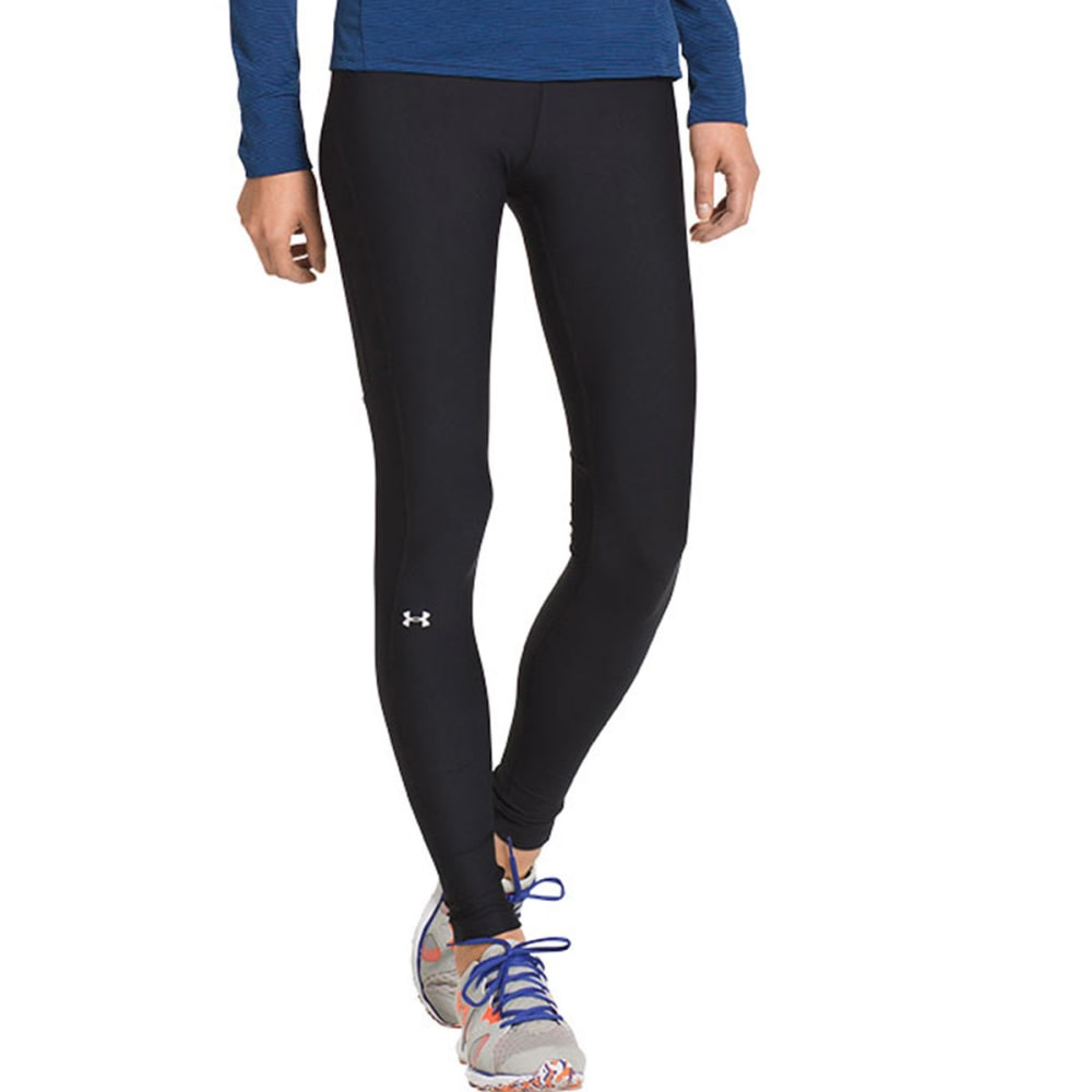 UNDER ARMOUR Women's HeatGear® Alpha Leggings - BLACK