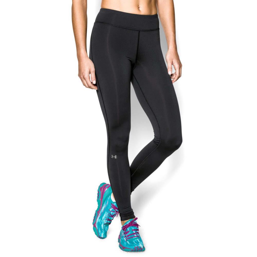 Under Armour Women's UA Armour Coldgear Legging - BLACK 001