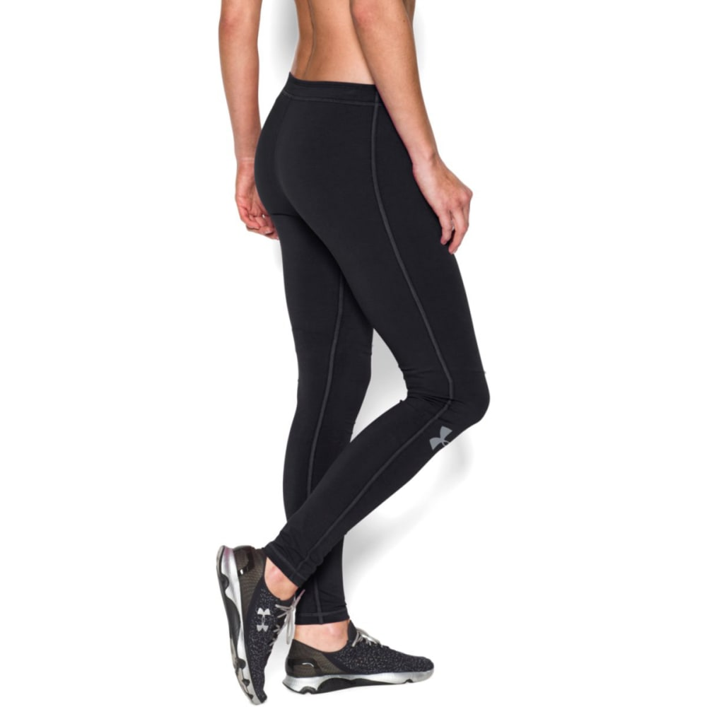 UNDER ARMOUR Women's Rival Leggings - BLACK