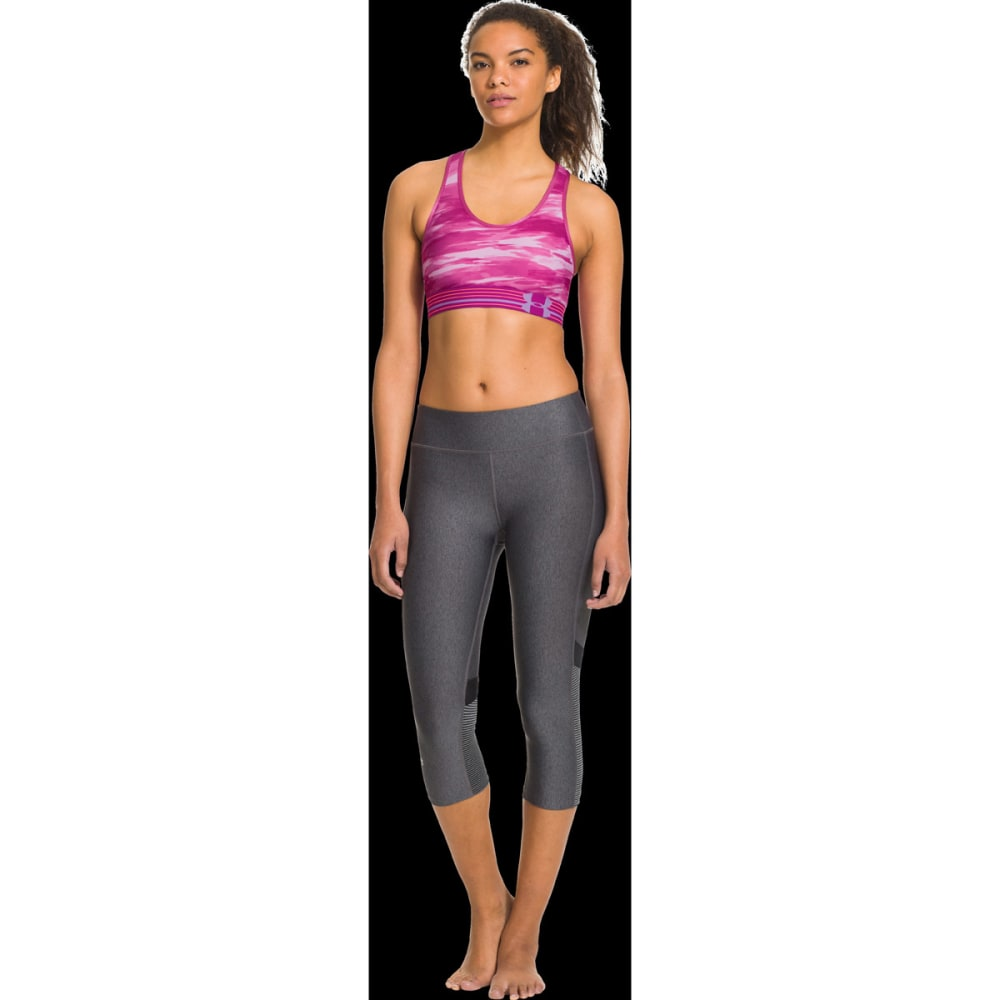 UNDER ARMOUR Women's HeatGear® Alpha Sports Bra - PINK