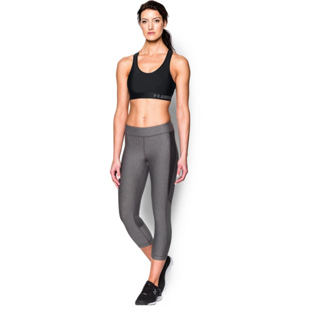 UNDER ARMOUR Women's Armour® Mid Sports Bra - BLACK-001