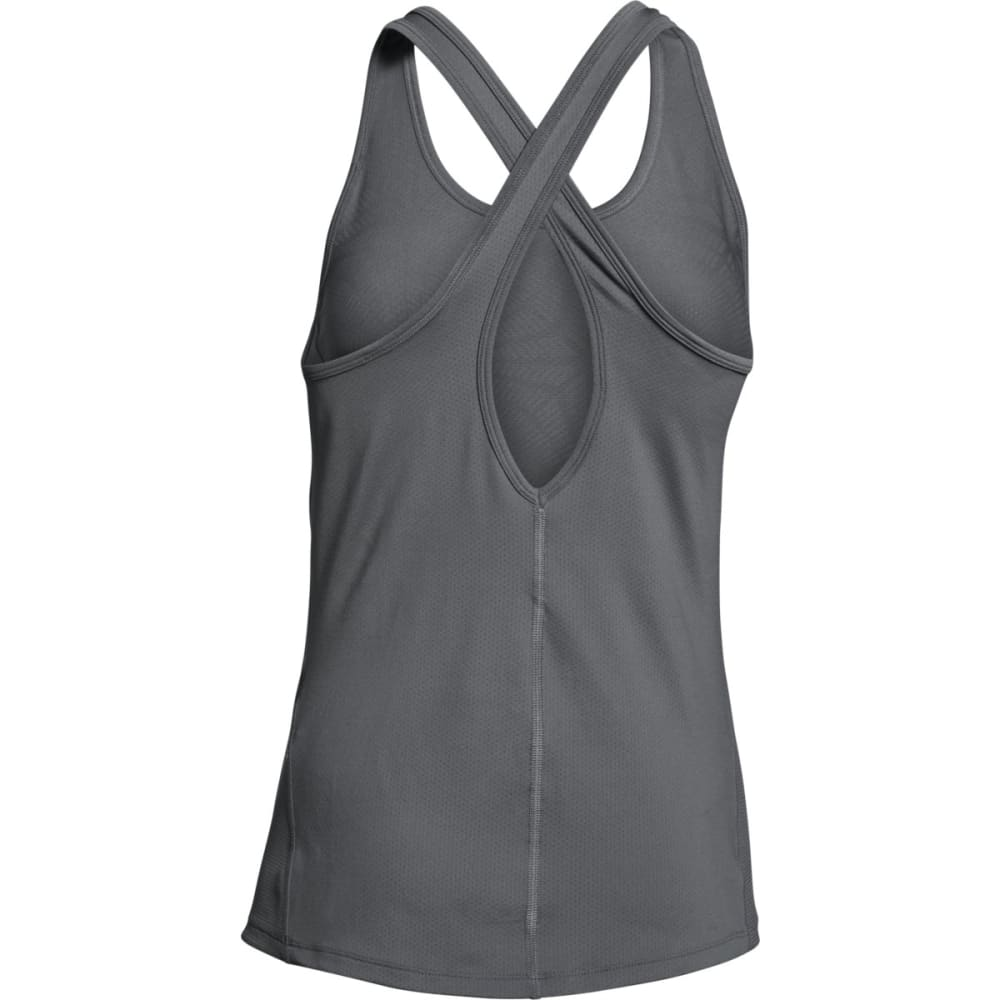 UNDER ARMOUR Women's HeatGear® CoolSwitch Tank - GRAPHITE-040