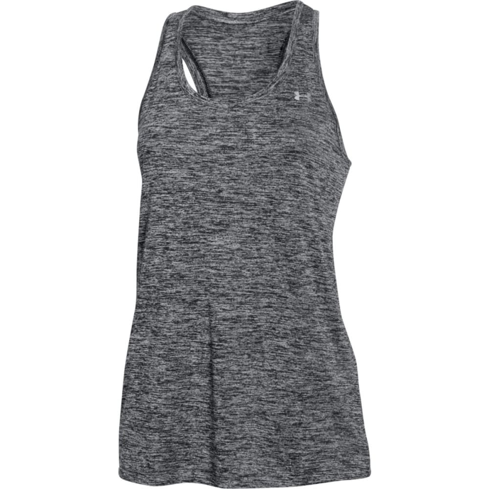 UNDER ARMOUR Women's Twist Tech Tank - BLACK-001