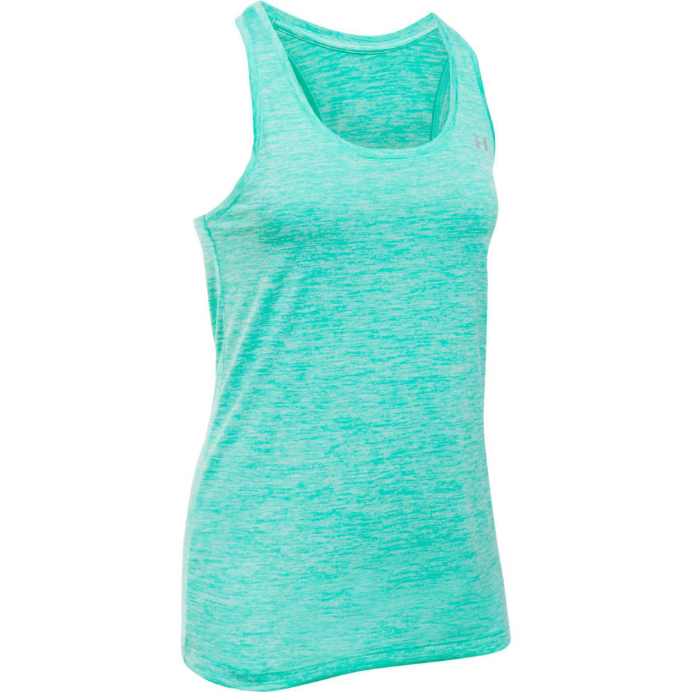 UNDER ARMOUR Women's Twist Tech Tank - ABSINTHE GREEN-190