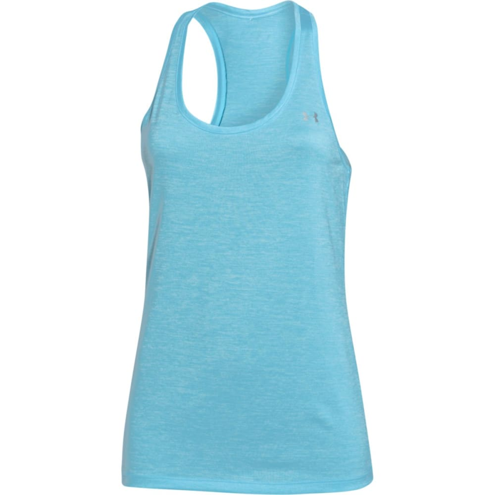 UNDER ARMOUR Women's Twist Tech Tank - BLUE