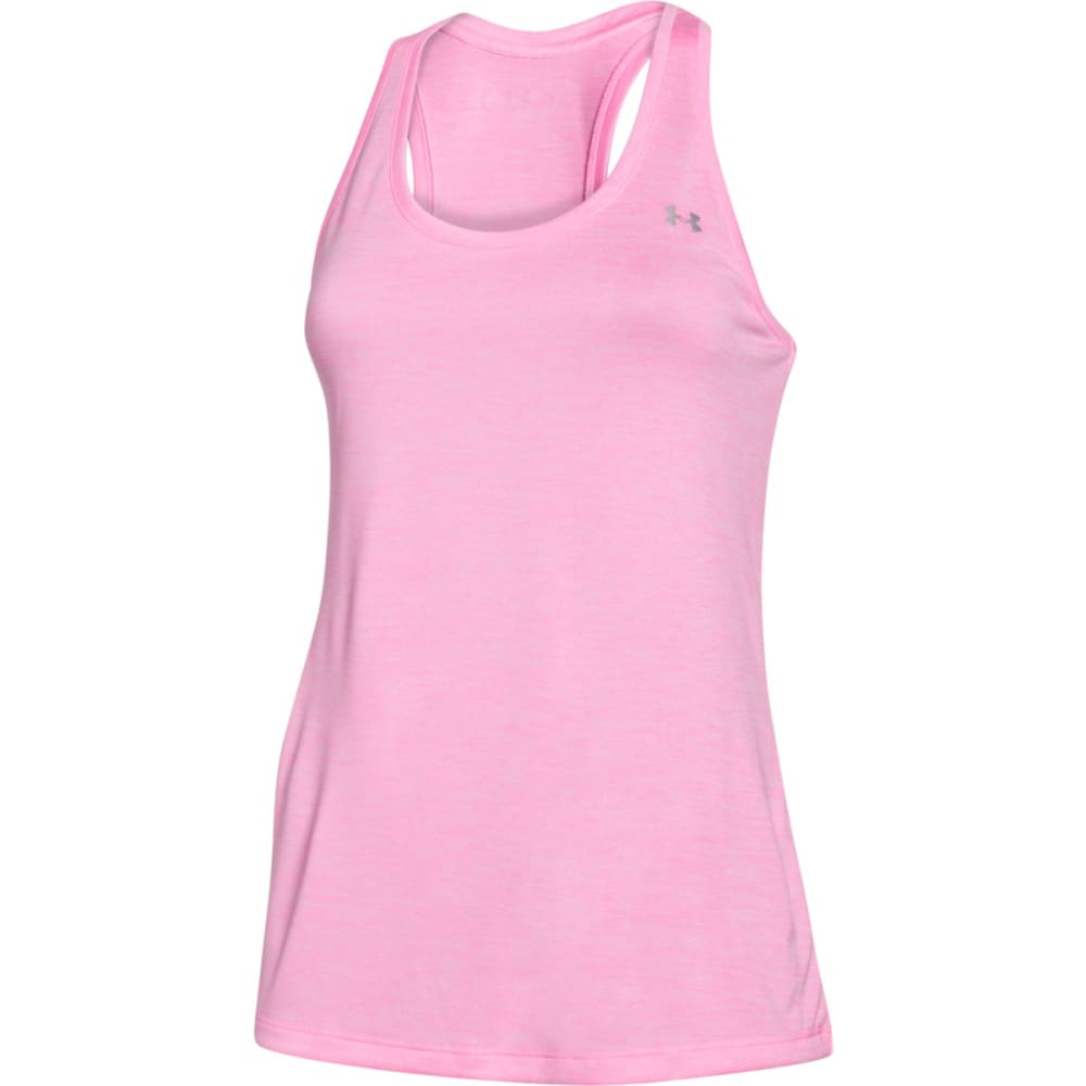 UNDER ARMOUR Women's Twist Tech Tank - PINK