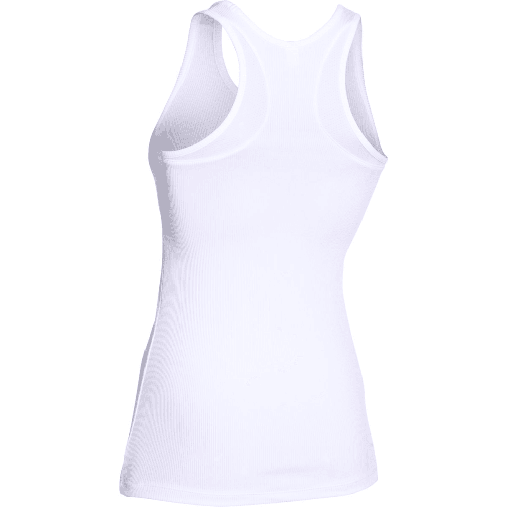 UNDER ARMOUR Women's Victory Tank - WHITE/ELEMENTAL