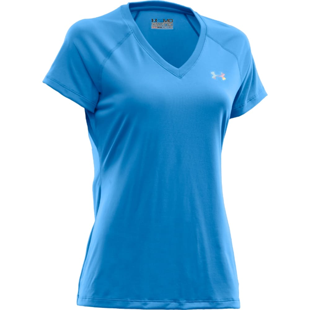 UNDER ARMOUR Women's Tech V - BLUE
