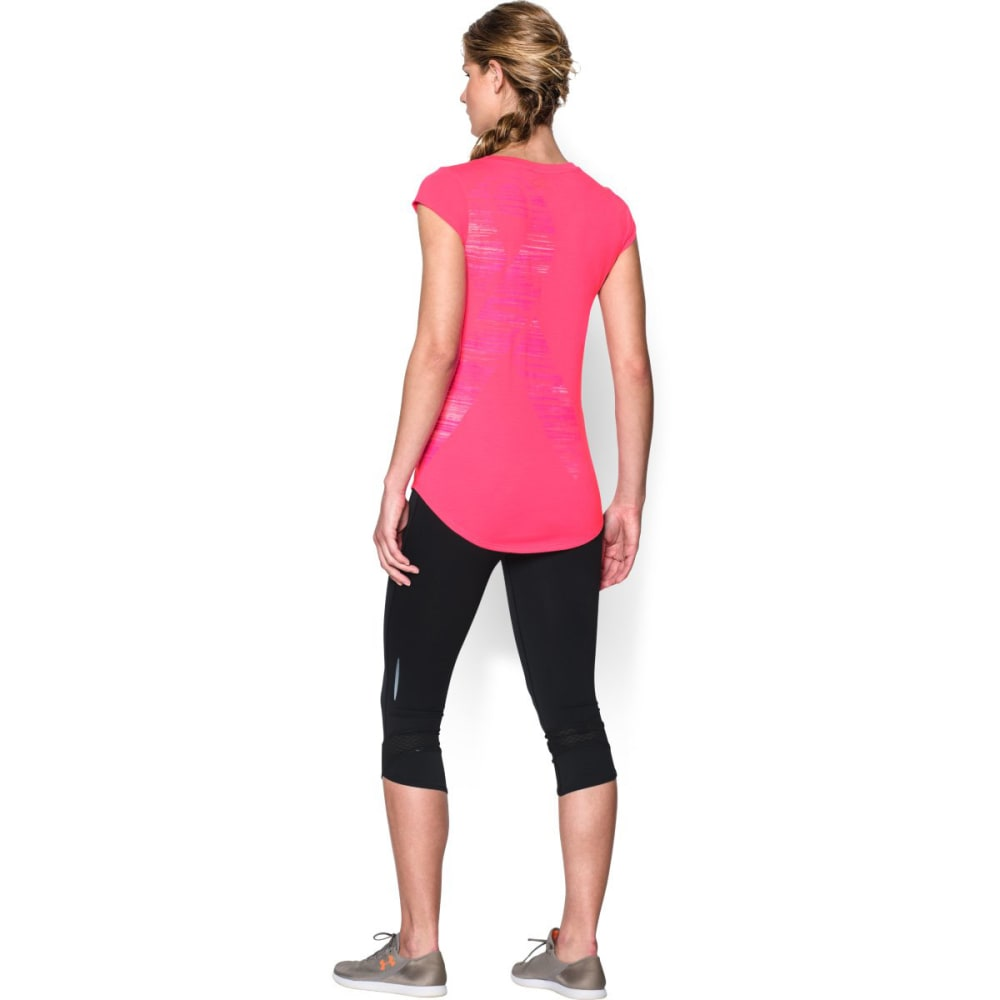 UNDER ARMOUR Women's Power In Pink® Go Fight Cure Long - CERISE