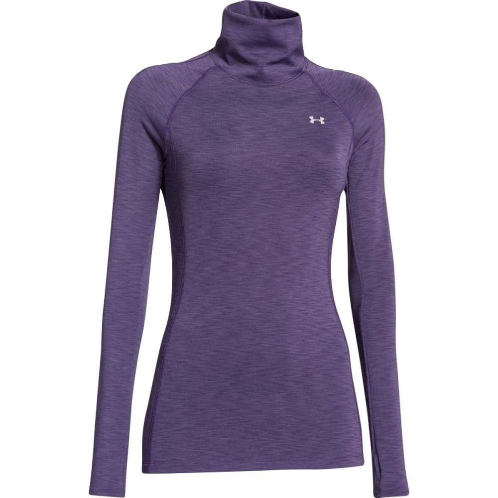 UNDER ARMOR Women's ColdGear® Cozy Neck Top - PURPLE
