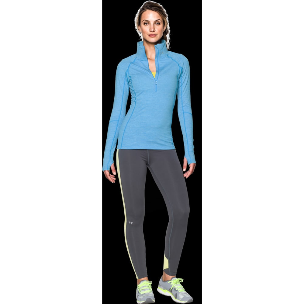 UNDER ARMOUR Women's UA Armour Coldgear ½  Zip - BLUE