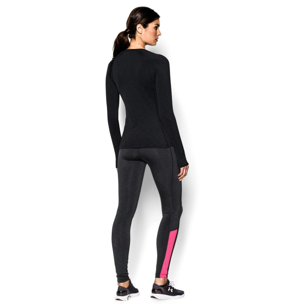 UNDER ARMOUR Women's ColdGear Cozy Crew - BLACK