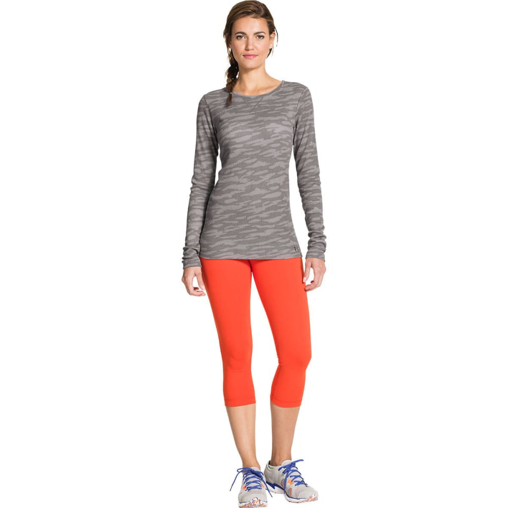 UNDER ARMOUR Women's Cozy Waffle Long - GRAY