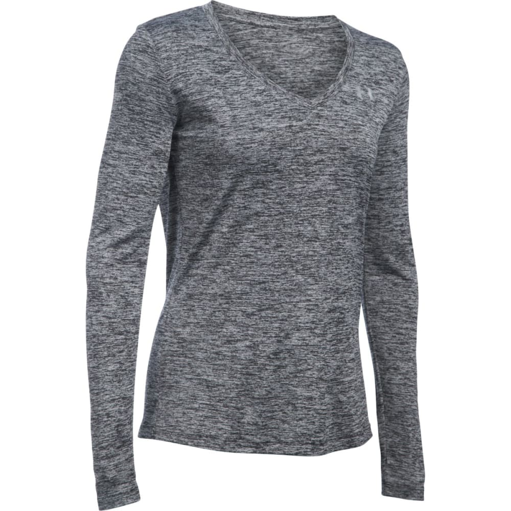 UNDER ARMOUR Women's UA Tech™ Twist Long-Sleeve Tee - BLACK 001