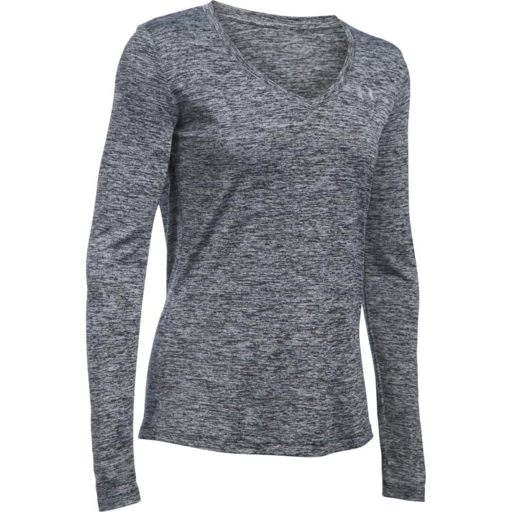 UNDER ARMOUR Women's UA Tech™ Twist Long-Sleeve Tee - BLACK 001