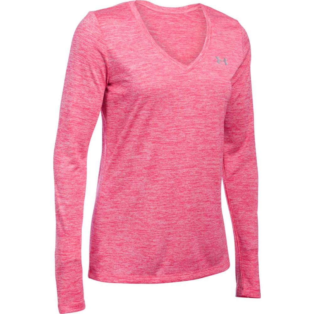 UNDER ARMOUR Women's UA Tech™ Twist Long-Sleeve Tee - PINK SKY 600