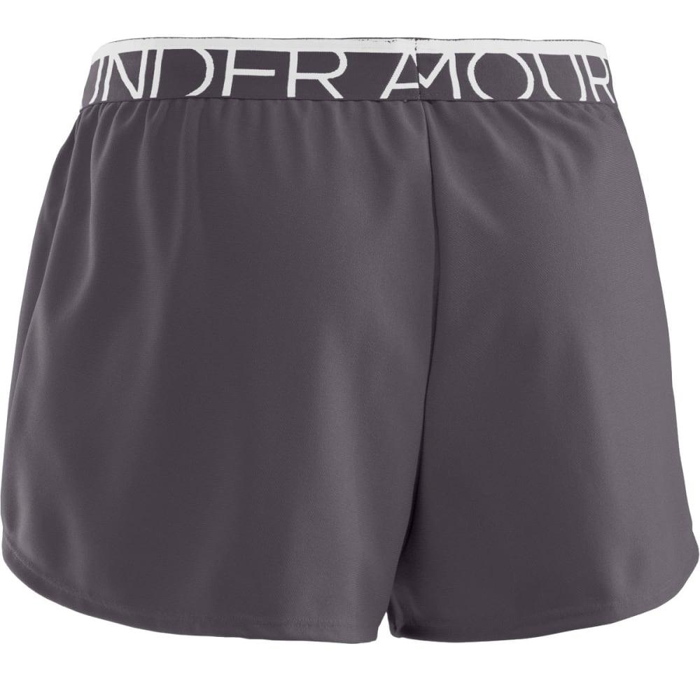 UNDER ARMOUR Women's Play Up Shorts - PHANTOM GREY