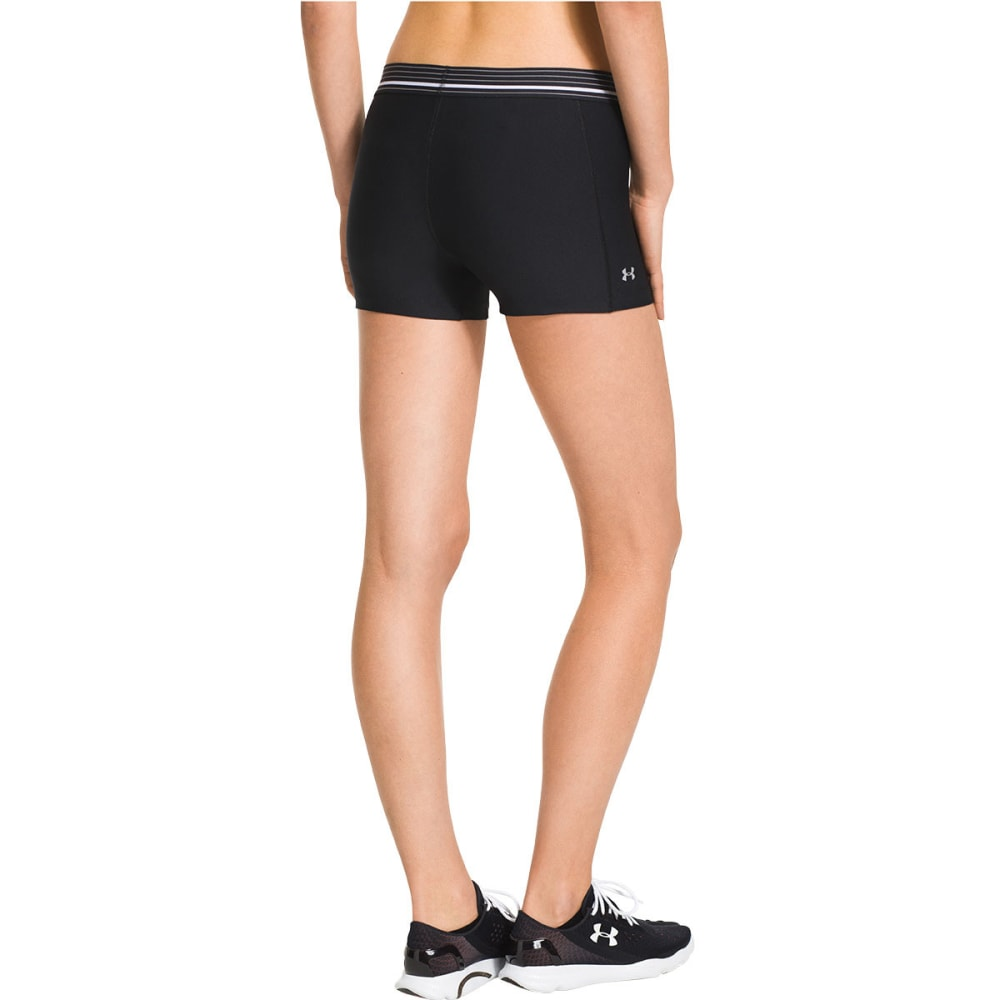 UNDER ARMOUR Women's HeatGear® Alpha Shorty - BLACK