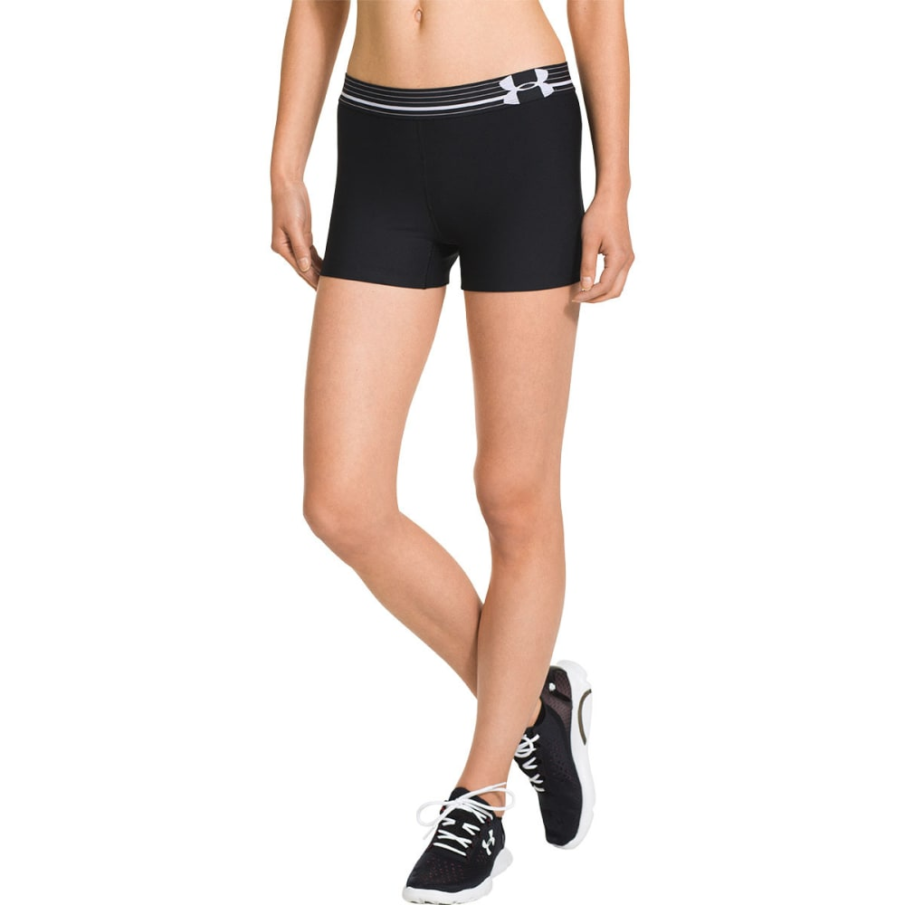 UNDER ARMOUR Women's HeatGear® Alpha Shorty - BLACK